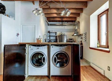 machine a laver cuisine comment intégrer le lave linge dans intérieur 31 idées