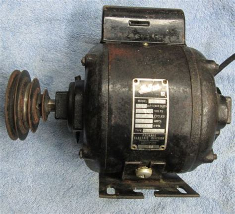 Vintage Electric Motor by Rotafil Electric Motor Type R 73 Tzsupplies