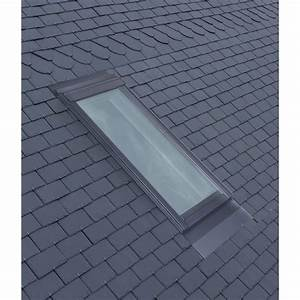 Fenetre De Toit Avec Volet Roulant Integre : raccord pour fen tre de toit velux el sk08 gris leroy ~ Premium-room.com Idées de Décoration