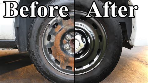 How To Paint The Wheels On Your Car