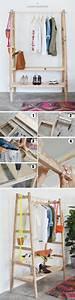 Echelle Porte Vetement : 1001 tutos et id es pour fabriquer ou customiser une chelle d corative diy diy wardrobe ~ Nature-et-papiers.com Idées de Décoration