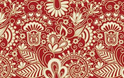 Pattern Abstract Wallpapers Patterns Folk Background