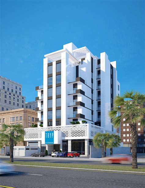 olaya hotel exterior design al khobar saudi arabia cas