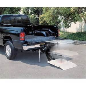 Truck Tailgate Chair by Pickup Truck Cargo Lift