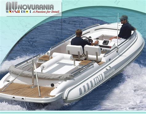 Yacht Tender by Novurania Yacht Tender Eq600lp Superyachts News