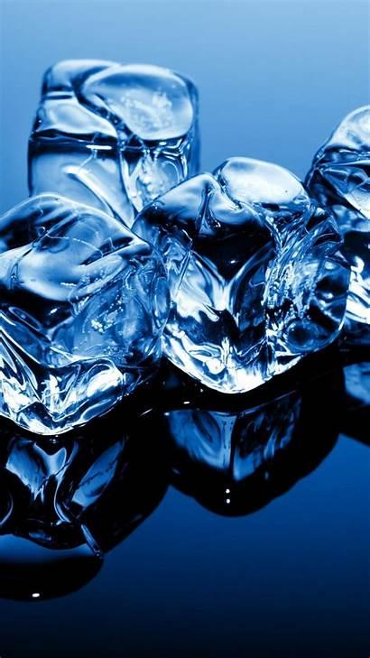 Ice 4k Frozen Background Cubes Water 5k