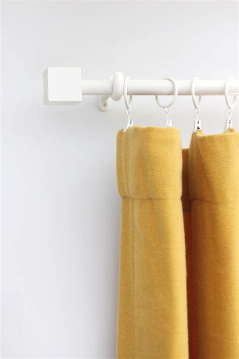 budget curtain rod finial diy  beautiful mess