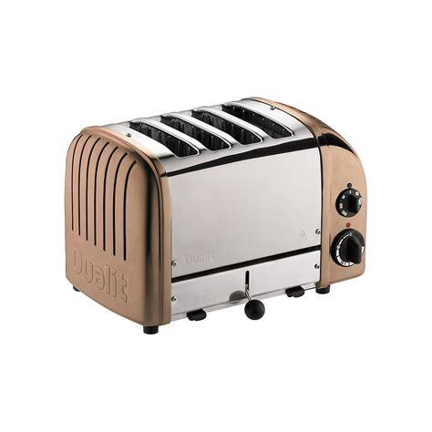 Dualit Vario 4 Slice Toaster - dualit classic vario 4 slice toaster copper dualit from