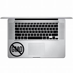 funny anti gmo foods vinyl sticker laptop keyboard inside With kitchen colors with white cabinets with grip stickers for phones