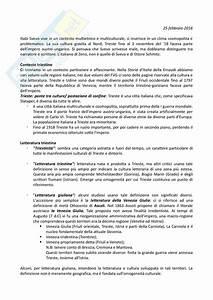 Appunti Di Letteratura Italiana Contemporanea  Lezioni