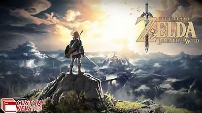 Breath Zelda Wild Legend Wallpapers Newtabsy
