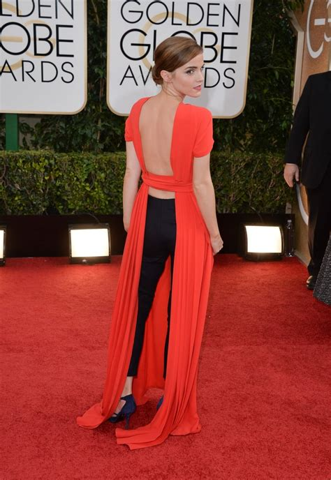 Emma Watson Memorable Golden Globe Awards Dresses