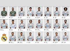 Elenco Real Madrid 20172018 Efeito Fúria