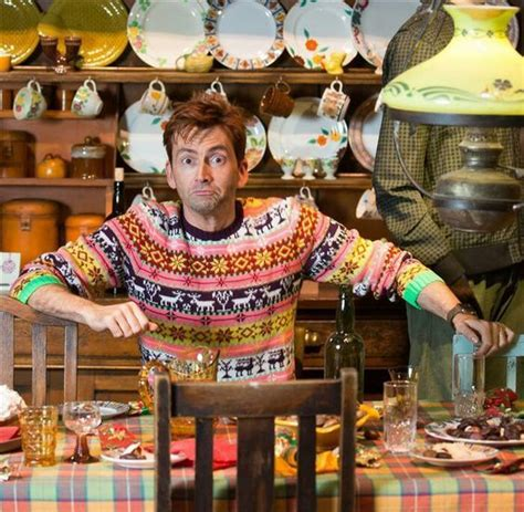 David Tennant in this sweater: pure happiness | David ...