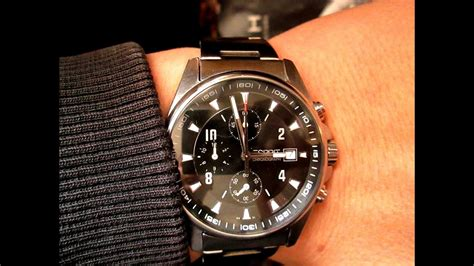 ESPRIT Chronograph Watch Review - YouTube