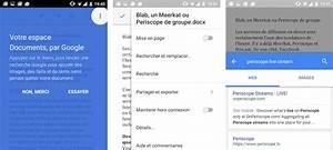 google docs pour android integre la recherche sur google With google recherche documents