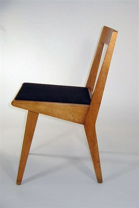 jens risom stacking chair for knoll c1952 interior