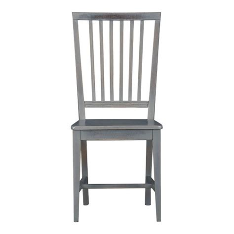 grigio side chair crate and barrel