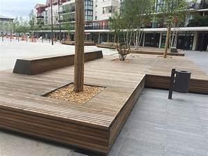mobilier urbain amenagement d39espace public et urbain sols With meuble urbain