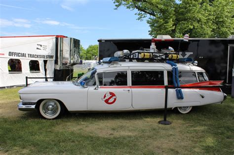 What Is The Ghostbusters Car by Pics Up With The Original 1984 Ghostbusters