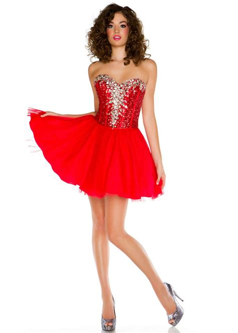 Red Cocktail Dresses Under 100  Style Jeans