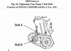 2005 Scion Xa Serpentine Belt Diagram