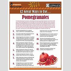 12 Great Ways To Use Pomegranates Oldways