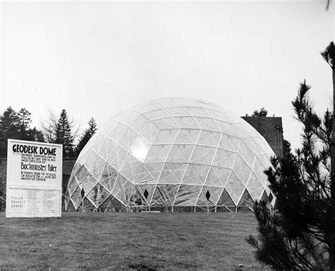 1960s: Visionary Fuller brought dome projects to UO ...