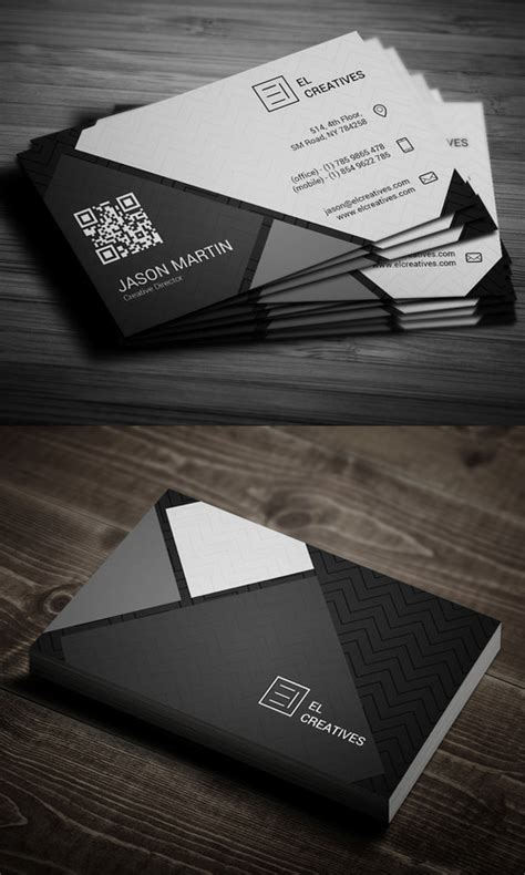 corporate creative business card psd templates design