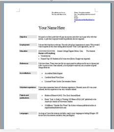 choosing the right resume format 10 resume tips choose the right format writing resume sle