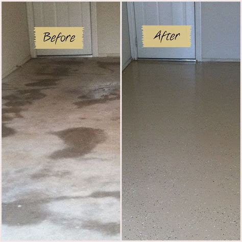 garage floor paint before and after 25 best ideas about garage floor epoxy on pinterest epoxy garage floor paint garage epoxy