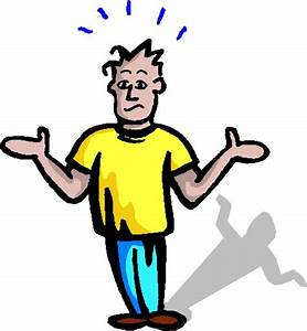 Pics For > Confused Guy Clipart