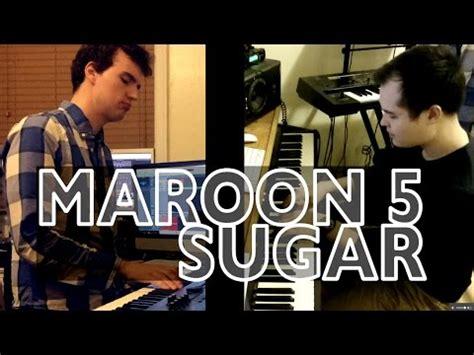 maroon  sugar  sax piano cover  elizabeth