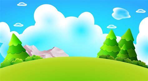 foto de Desenhos animados floresta colina paisagem vector natureza