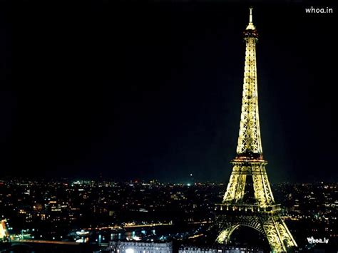eiffel tower lighting with night view hd wallpaper