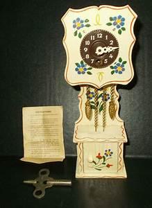 Vtg Josef Hauser Miniature Instructions Key Germany