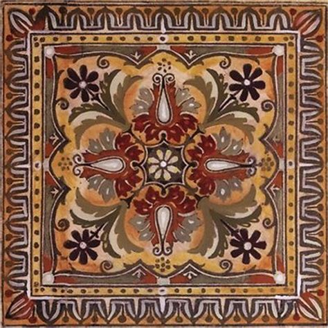 Tuscan Decorative Wall Tile by 1000 Images About Tile Designs On