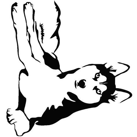 patere chambre bebe stickers avec allongé chien husky
