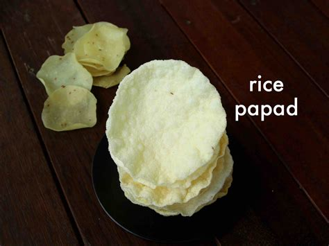 papad recipe papadum recipe    rice papad