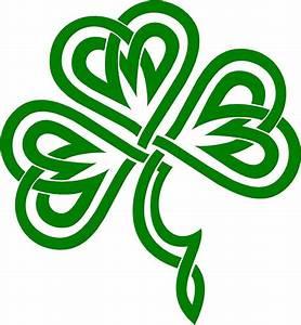 Celtic Clover | Irish Clover / Shamrock Celtic Knot Decal ...