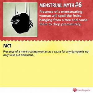 Menstrual Myths | Period hacks, Letting go