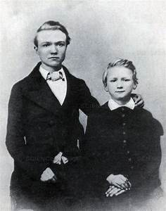 Science Source - Young Andrew Carnegie with Brother ...