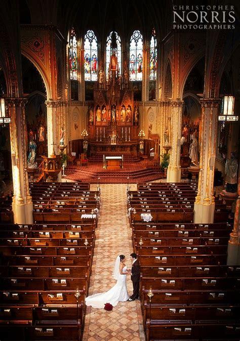 bride  groom   beautiful st stanislaus church