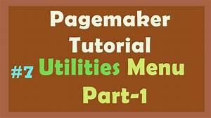 Pagemaker Utilities Part
