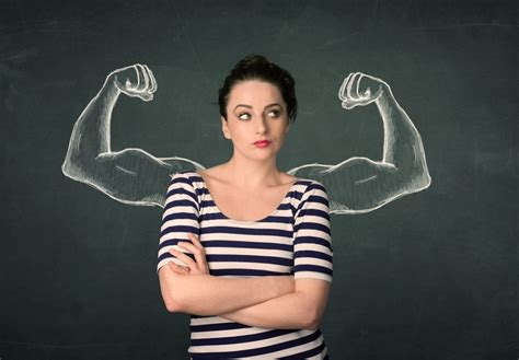 Women with Strong Arms