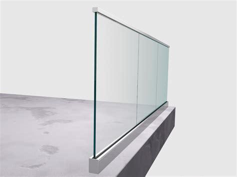 CGS Smart Rail Aluminium balustrade glazing channel australia