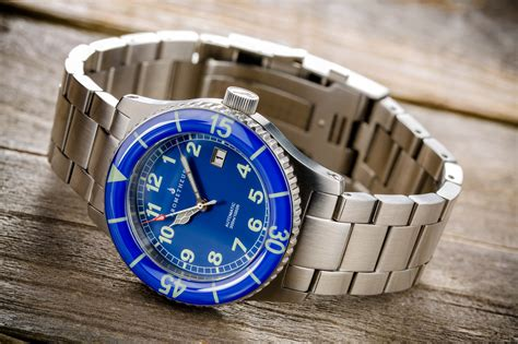 Blue Dive Watches - affordable dive