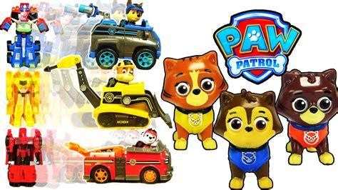 paw patrol mission paw transformers toys paw patrol
