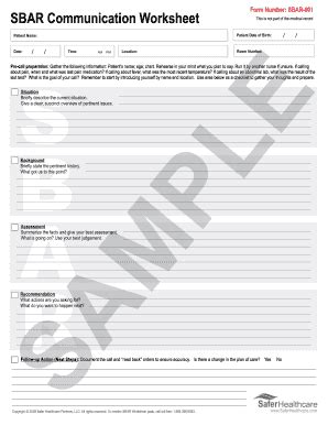sbar template word birth plan template forms fillable printable sles for pdf word pdffiller