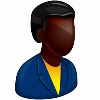Clip Icon African American Manager Boss Project